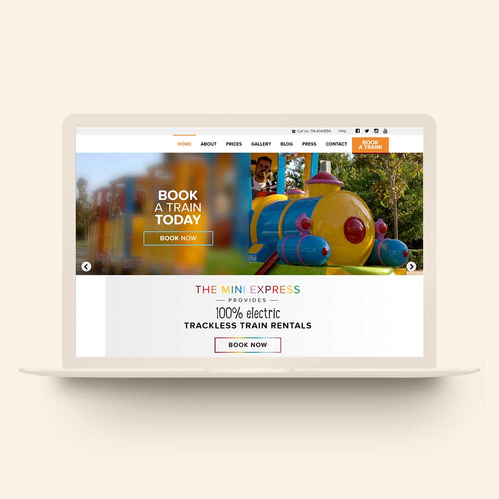 Creative Business Website Design By Mittun Creative The Mini