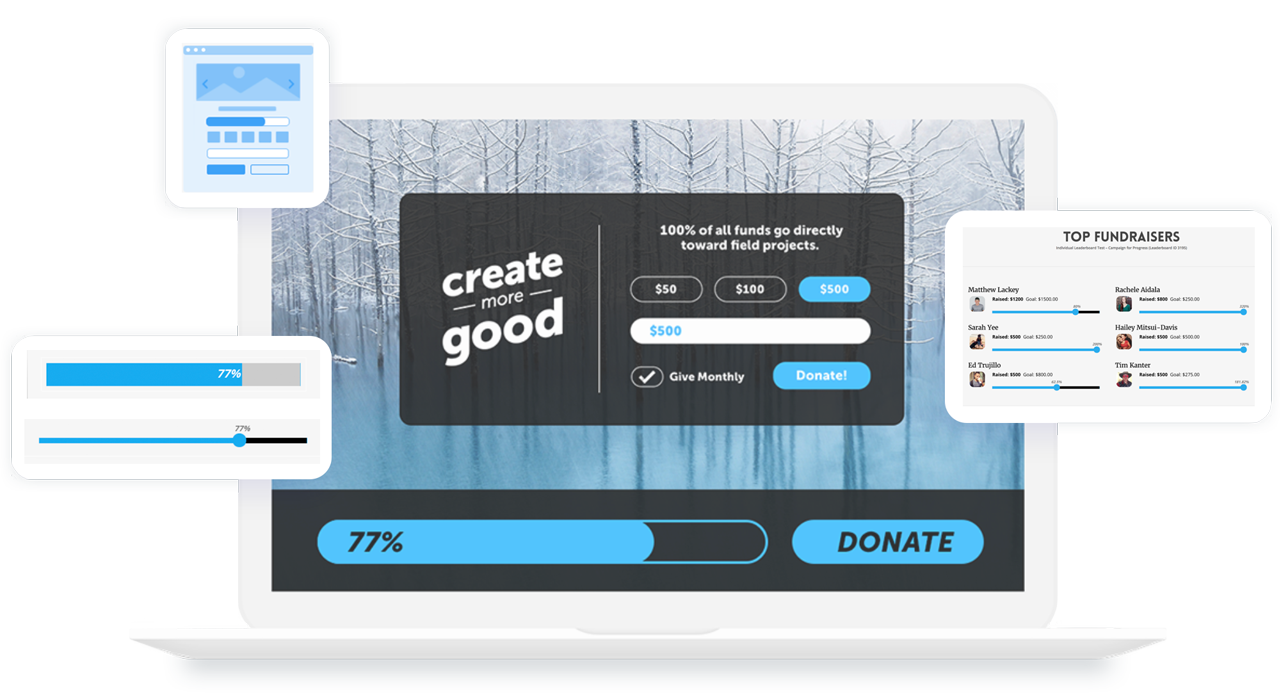 ClassyPress Pro - Beautiful Donation forms for Nonprofits