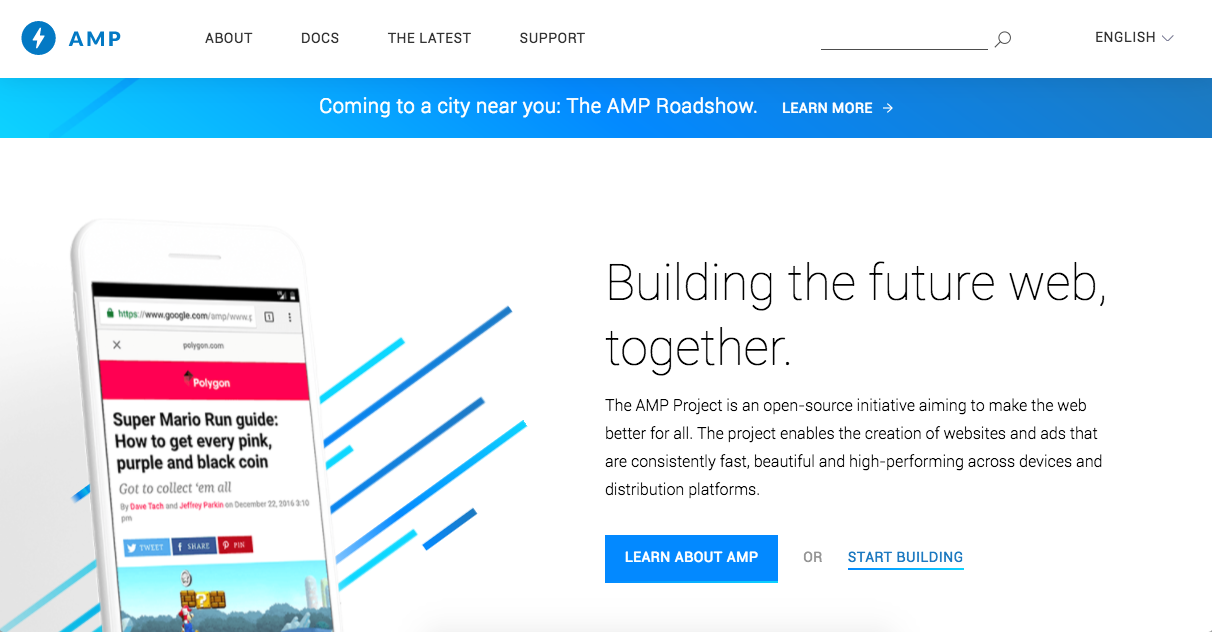 Accelerated Mobile Pages Project — What AMP is and why your nonprofit website needs it now