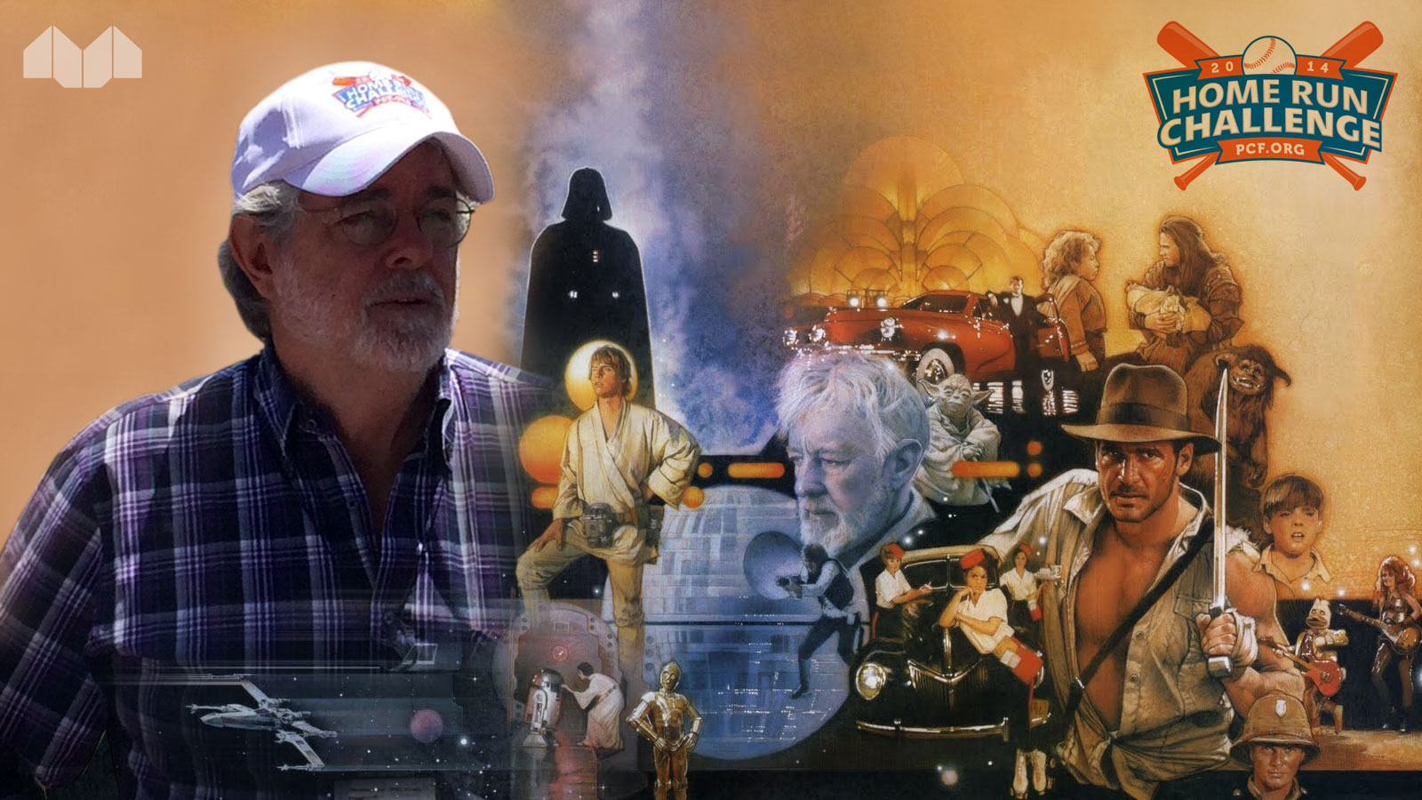 Star Wars Director George Lucas Sports a Logo by Mittun!