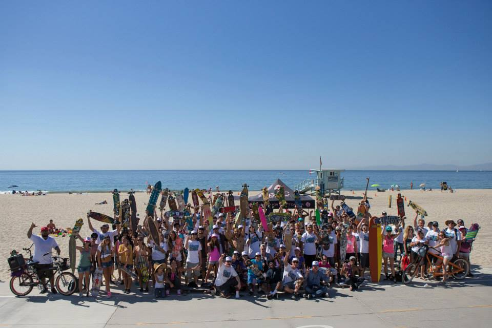 B4BC Skate The Coast 2013 Group shot - Photo by A-Game Photography
