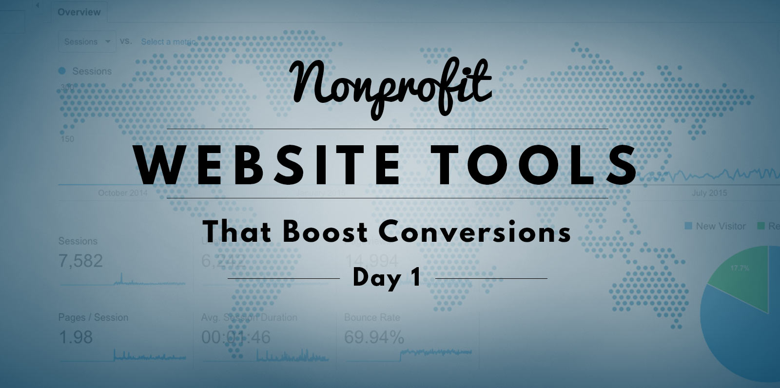 How to Test New Ideas on your Nonprofit Website