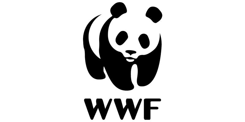 WWF Black and White - Great Non Profit Logo Design
