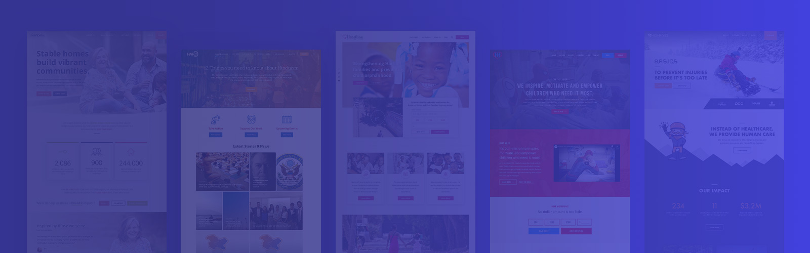 Nonprofit Website Redesigns: Before and After